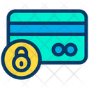 Credit Card Lock Security Icon