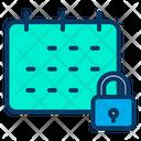 Lock Date Icon