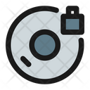 Lock Disc Icon