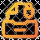 Lock Document Icon