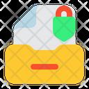Lock Document Lock Document Icon