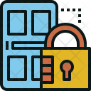 Lock Door Icon