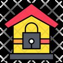 Lock Down Quarantine Stayhome Icon