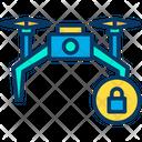 Lock Dron Lock Drone Icon