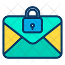Lock Email Icon