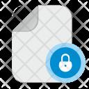 Lock Password File Icon