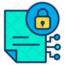 Lock File Icon