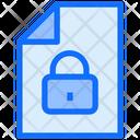 Lock File Secure File File Icon