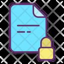Lock Files Icon