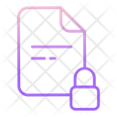 Lock Files Icon