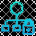 Lock Flow Icon