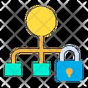 Lock Flowchart Icon