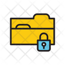 Lock Folder Lock Document Seccure Data Icon