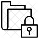 Lock Folder Data Icon