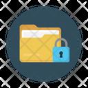 File Lock Secure Icon