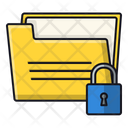 Lock Document Secure Document Document Icon