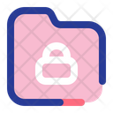 Lock Folder Secure Folder Security Icon