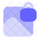 Lock Gallary Secure Photo Secure Image Icon