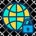 Lock Global Icon