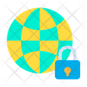Lock Global Icon