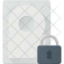 Lock Hard Drive Icon