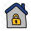 Home Lock Safety Icon