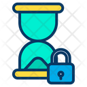 Hourglass Timing Lock Timing Icon