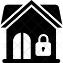 Locked House Secure Icon