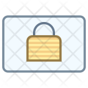 Lock Landscape Icon
