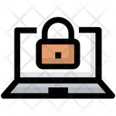 Lock Laptop Encryption Icon