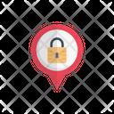 Lock Private Pin Icon