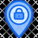 Location Lock Protect Icon