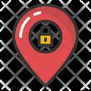 Map Pointer Lock Icon