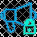 Lock Loudspeaker Icon