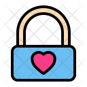 Lock Valentine Wedding Icon