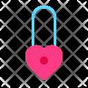 Lock Love Romance Icon
