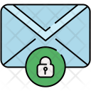 Lock Message Mail Icon