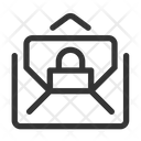 Lock Mail Icon