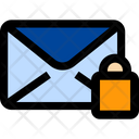 Lock Mail Lock Email Envelope Icon