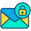 Lock Mail Email Icon