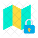 Lock Map Icon