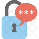 Message Lock Messenger Icon
