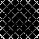 Lock Microchip Icon