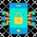Key Lock Mobile Icon