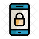 Mobile Lock Safe Icon