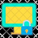 Lock Monitor Icon