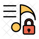 Lock Music Icon