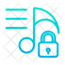 Lock Music Lock Icon