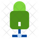 Lock Network Network Sharing Icon