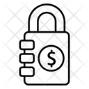 Lock Pad Business Money Icon